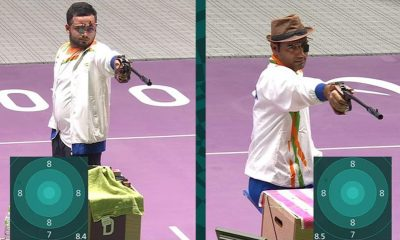Paralympic shooting: Narwal, Singhraj claim gold, silver for India