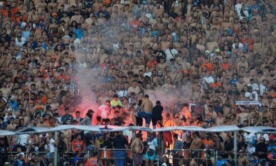 Fans fight at French league game in latest stadium violence
