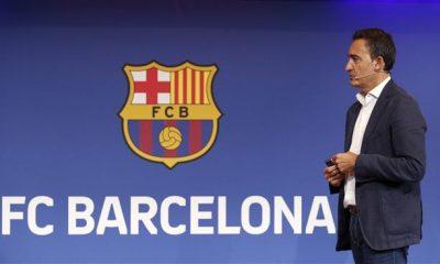 FC Barcelona's CEO Ferran Reverter