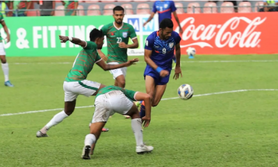 IND VS BANG FOOTBALL