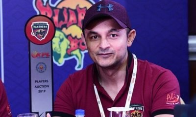 Ashfaq Ali Thara, the owner of a Karnataka Premier League team 'Belagavi Panthers'