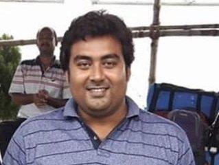 Swimming coach Surajit Ganguly