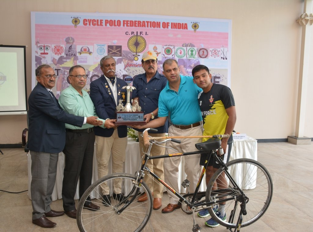 Cycle Polo League launched in New Delhi