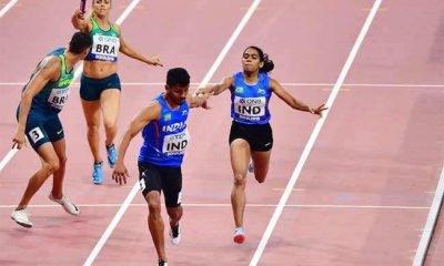 India 4x400m relay