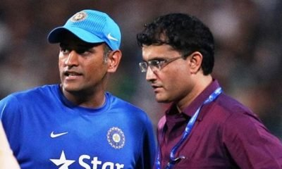 GANGULY AND DHONI