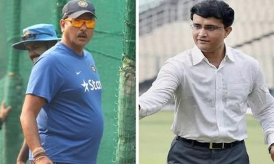 Ganguly and shastri