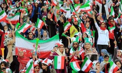 Iran women Football match