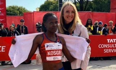 Kenya's Brigid Kosgei