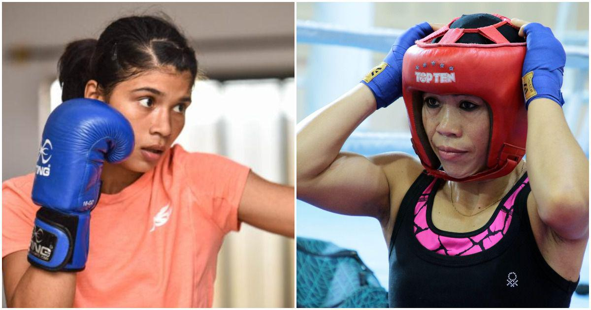 Nikhat Zareen & Mary Kom