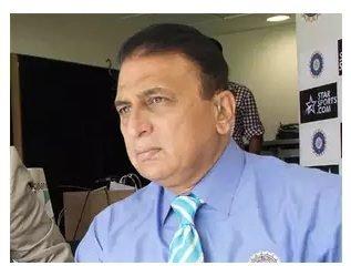 Angry- Sunil gavaskar