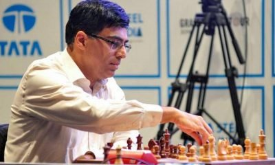 Anand held, Carlsen leads on 1st day at Tata Steel Chess