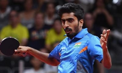 Sathiyan beaten at table tennis World Cup