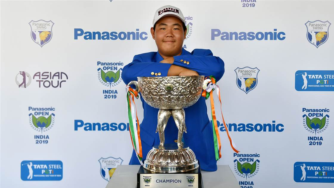 Shiv, Chikkarangappa finish tied second, Kim wins Panasonic Open India