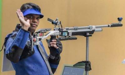 Shooter Deepak Kumar bags bronze and Olympic quota