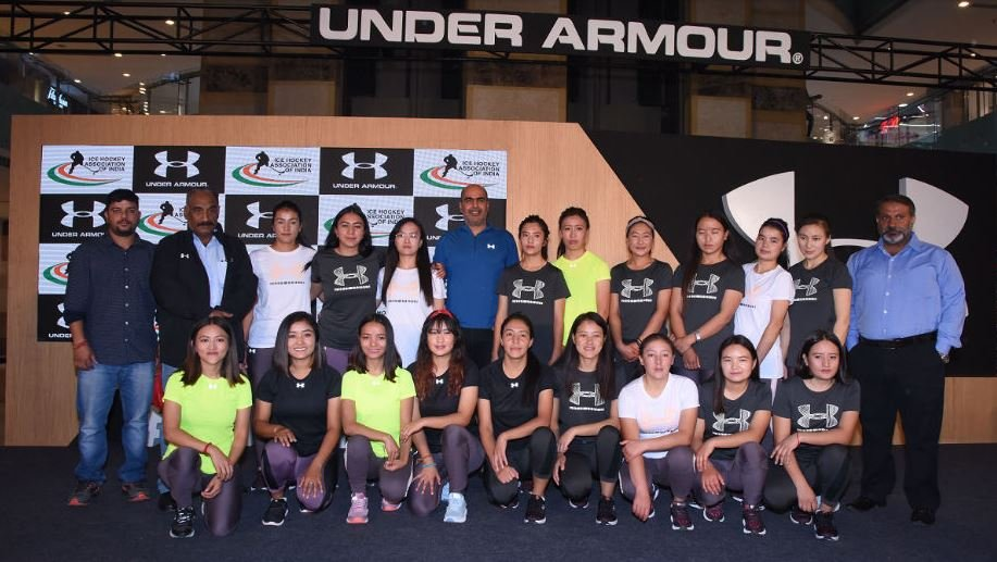 Under-Armour-and-the-Indian-Womens-Ice-Hockey-team