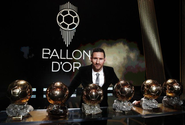 Lionel Messi - Ballon d'Or award