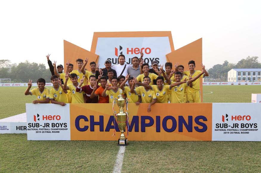 Meghalaya become national sub junior football champions