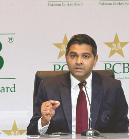 Wasim Khan steps down as Pakistan's cricket committee head