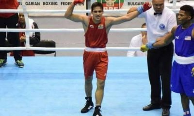 Indian boxer Mohammed Hussamuddin