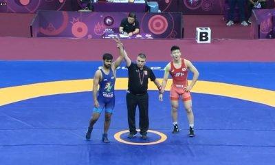 Aditya Kundu wrestler