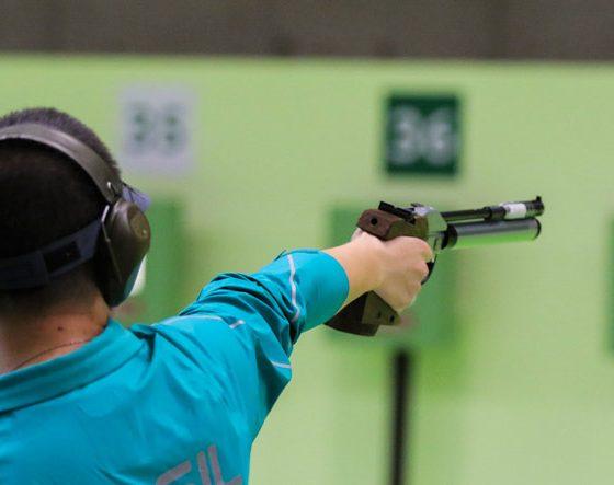 pistol-shooting