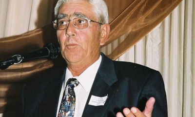South Africa captain Hansie Cronje father
