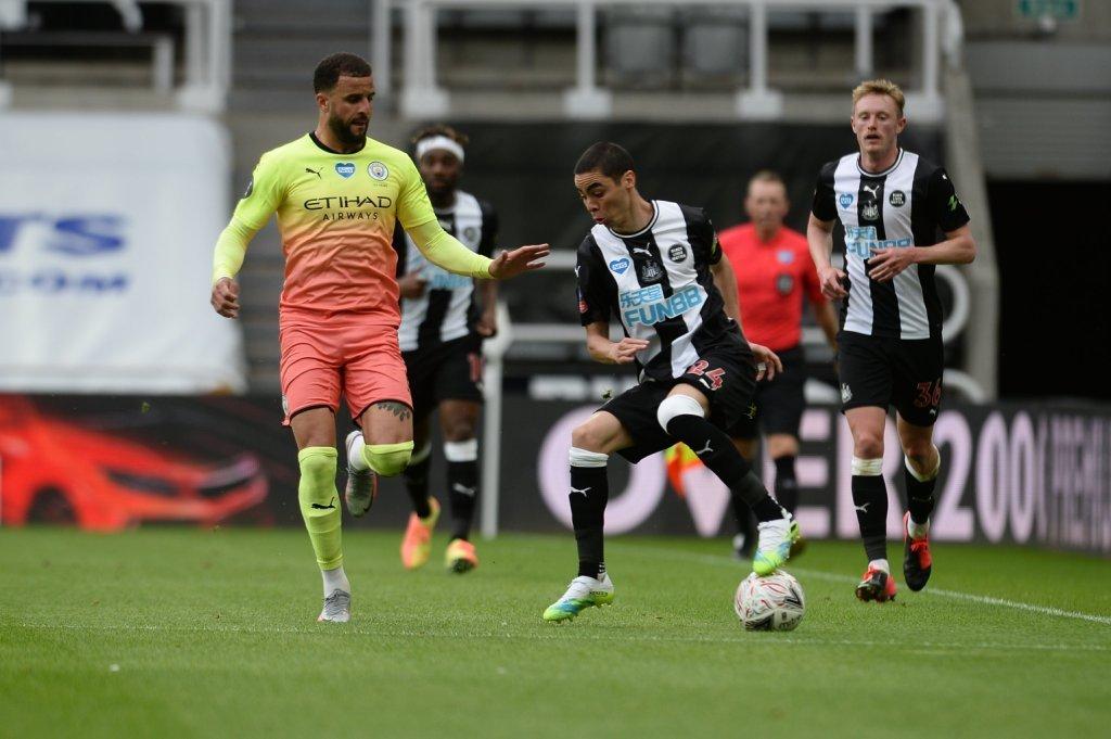 Newcastle VS MAN -CITY
