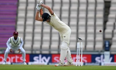 eng vs wi 1st Day